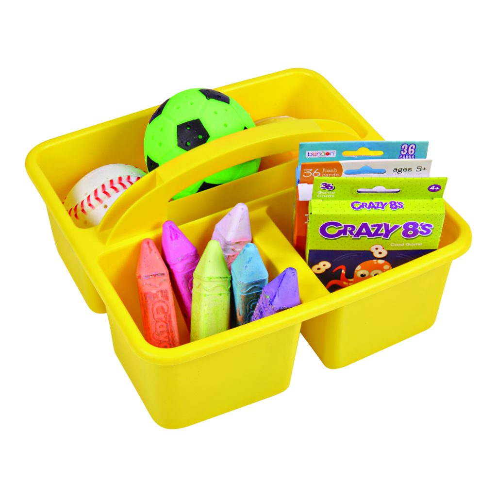 Antimicrobial Plastic Stationary Caddy