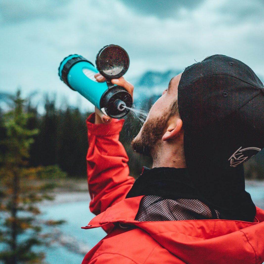 ICON Lifesaver Liberty water filtration bottle