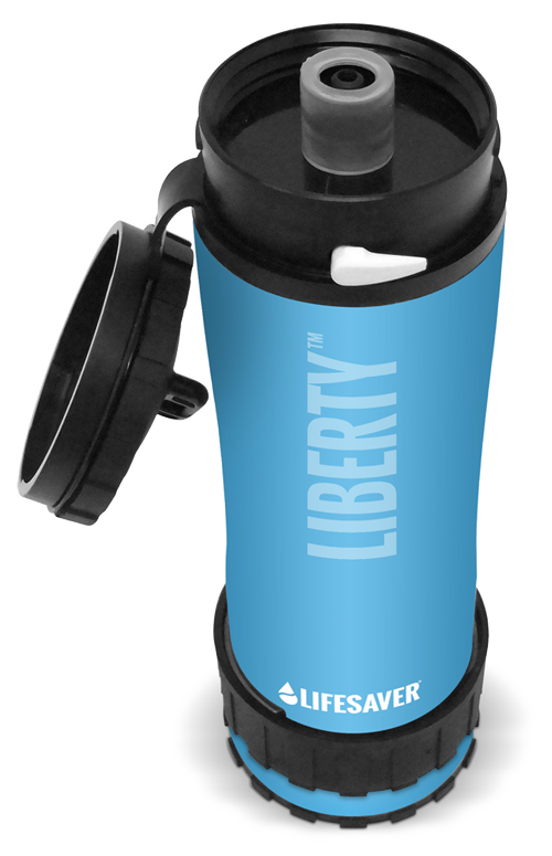 Icon Lifesaver Liberty drinking bottle with SteriTouch